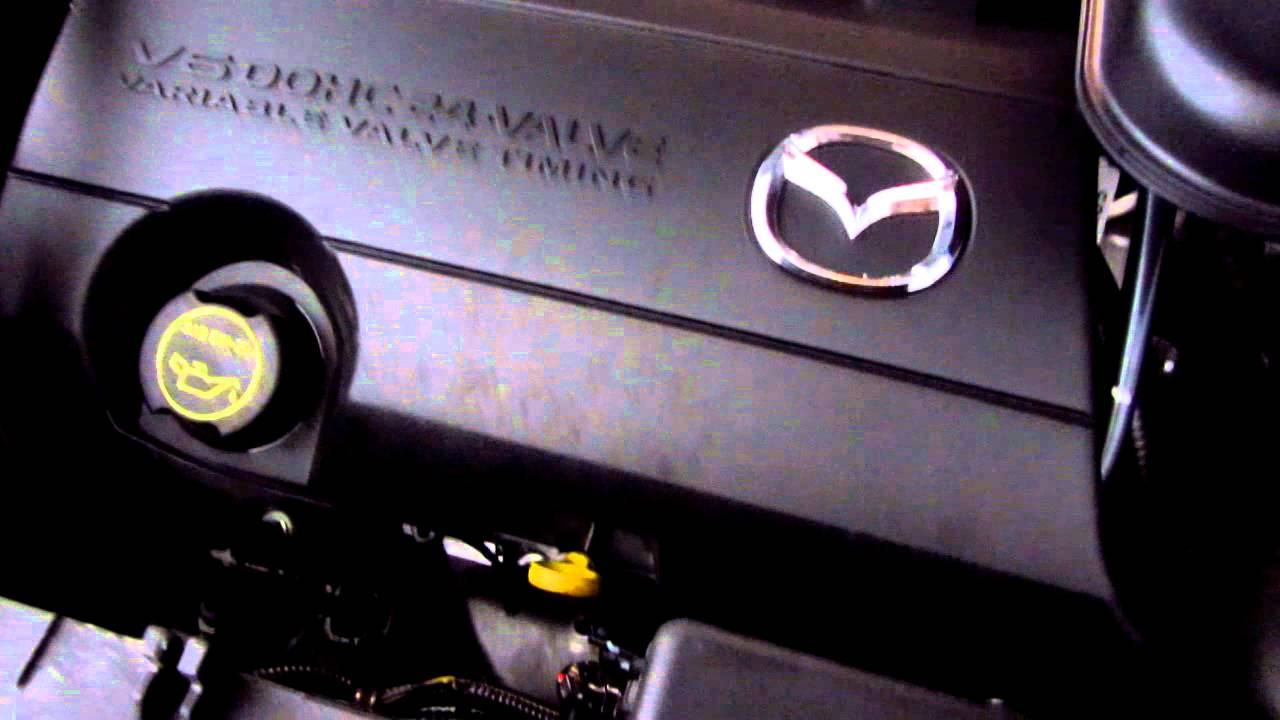 Mazda Cx 9 >> 2011 Mazda CX-9 MZI 3.7L V6 Engine Running At Idle After ...