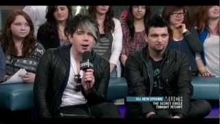 Marianas Trench's appearance on NML on MuchMusic March 23rd, 2012. ...