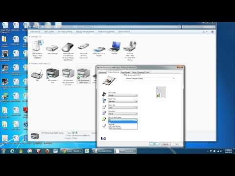 Setting Your Printer to Double-Sided Printing on a Windows Computer