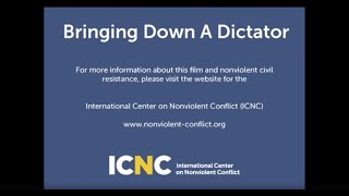 Bringing Down A Dictator - English (standard definition)
