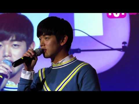 [141223] 에릭남(Eric Nam) Meet&Greet 미니콘서트 - 녹여줘(Melt My Heart) 무반주 직캠