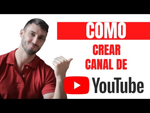 Como crear una CANAL DE YOUTUBE fácil en menos de 10 MINUTOS o menos