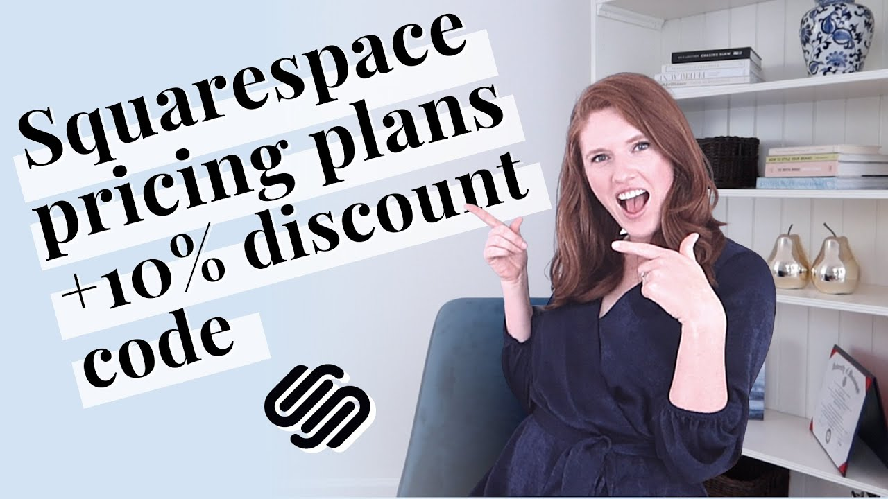 Choosing the right Squarespace pricing plan + 10% discount code