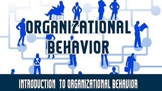 Management | Organizational Behavior | Introduction  to Organizational Behavior