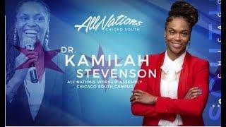 Apostle Matthew Stevenson prophesies to Apostle Kamilah Stevenson