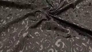 видео Жаккардовая ткань для штор
