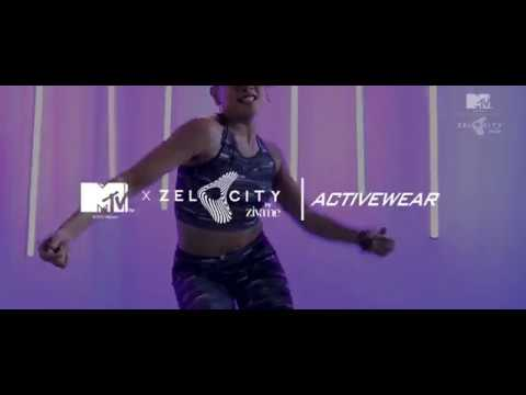 MTV x Zelocity Exclusive Activewear Collection Teaser 2