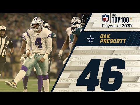 #46: Dak Prescott (QB, Cowboys) | Top 100 NFL Players of 2020