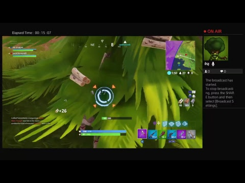 Fortnite Live w\ Jackson  (Jordan's View)