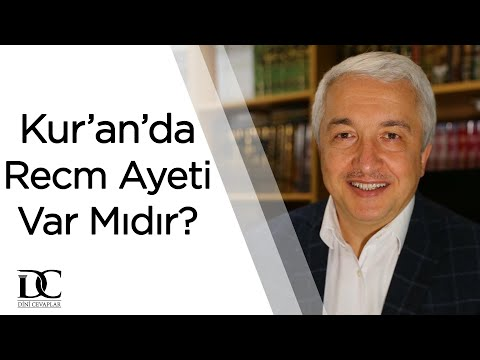 Kur'an'da recm ayeti var mıdır? | Prof. Dr. Mehmet Okuyan