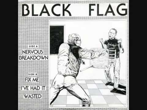black flag - nervous breakdown 7""