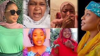 Hafsat Shehu da Mansura sunyi musayar yawu bayan Mansura ta chachchaki masu kuka suna tsinewa Rahama