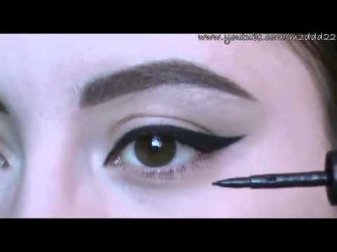 how to put on eyeliner pencil