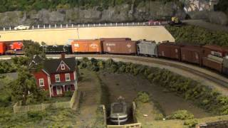 Lehigh Valley Railroad Frieght at Glendon (L&KV Model Railroad Museum)