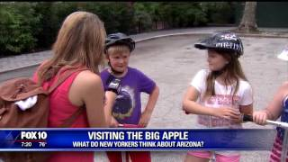 What do New Yorkers think of Arizona