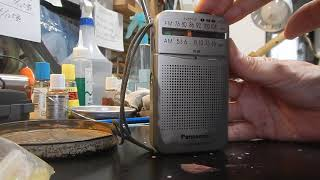 Panasonic FM-AM 2-BAND RECEIVER RF-P50 After