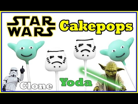 Cake Pops Star Wars - Yoda - Stormtroopers / Clone - Carl Arsenault