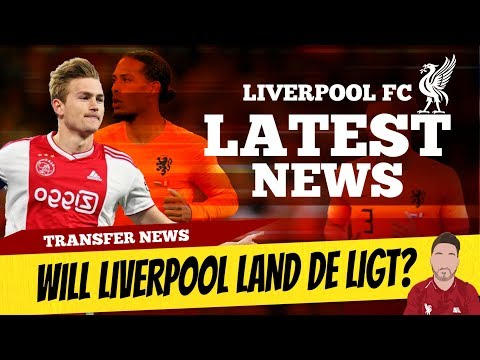 Matthijs De Ligt To LFC? Agent Van Dijk Worries Barcelona | Liverpool Transfer News