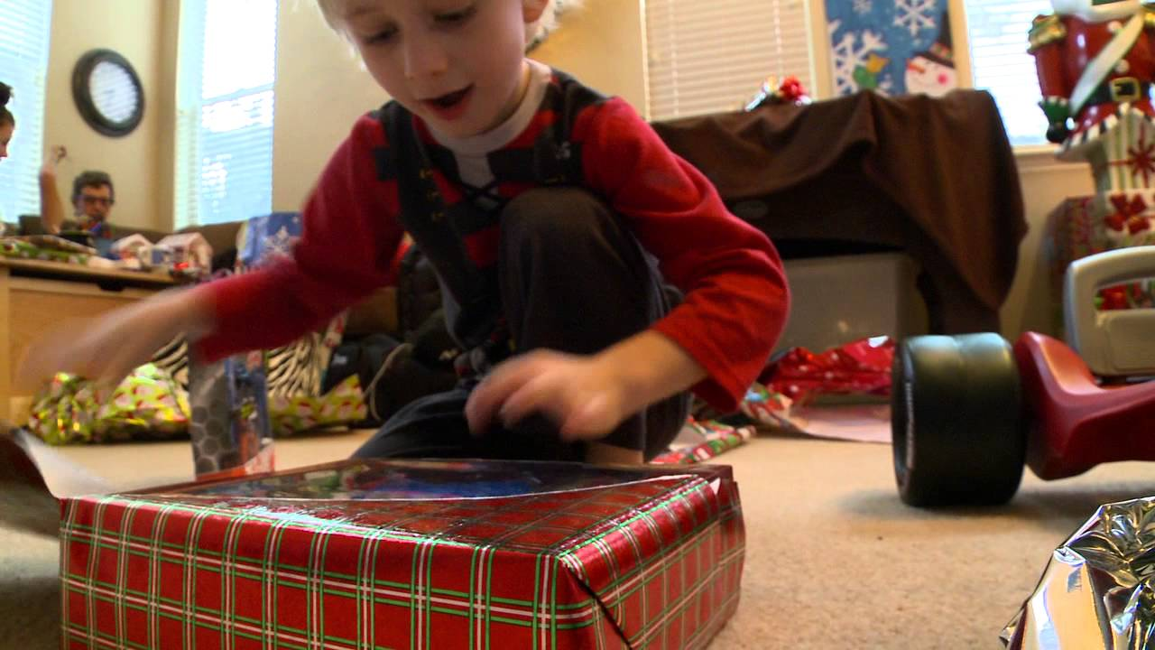 Christmas Morning 2012   YouTube