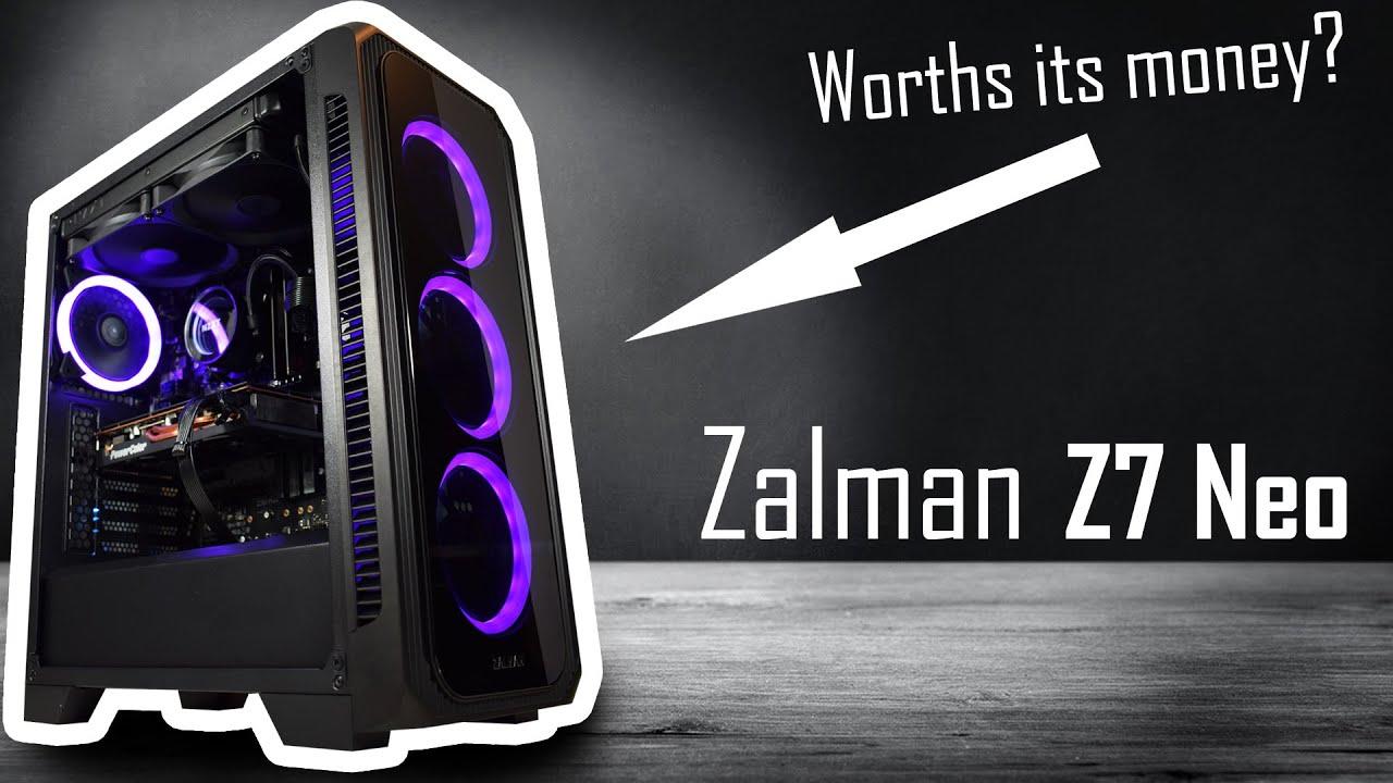 60$ RGB PC Case Review | Zalman Z7 Neo