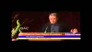 Christopher Hitchens nails an apologist for Islam and jihad