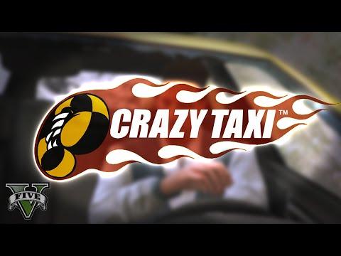 CRAZY TAXI - GTA V PC Funny Moments #29 (Rockstar Editor) [60fps]