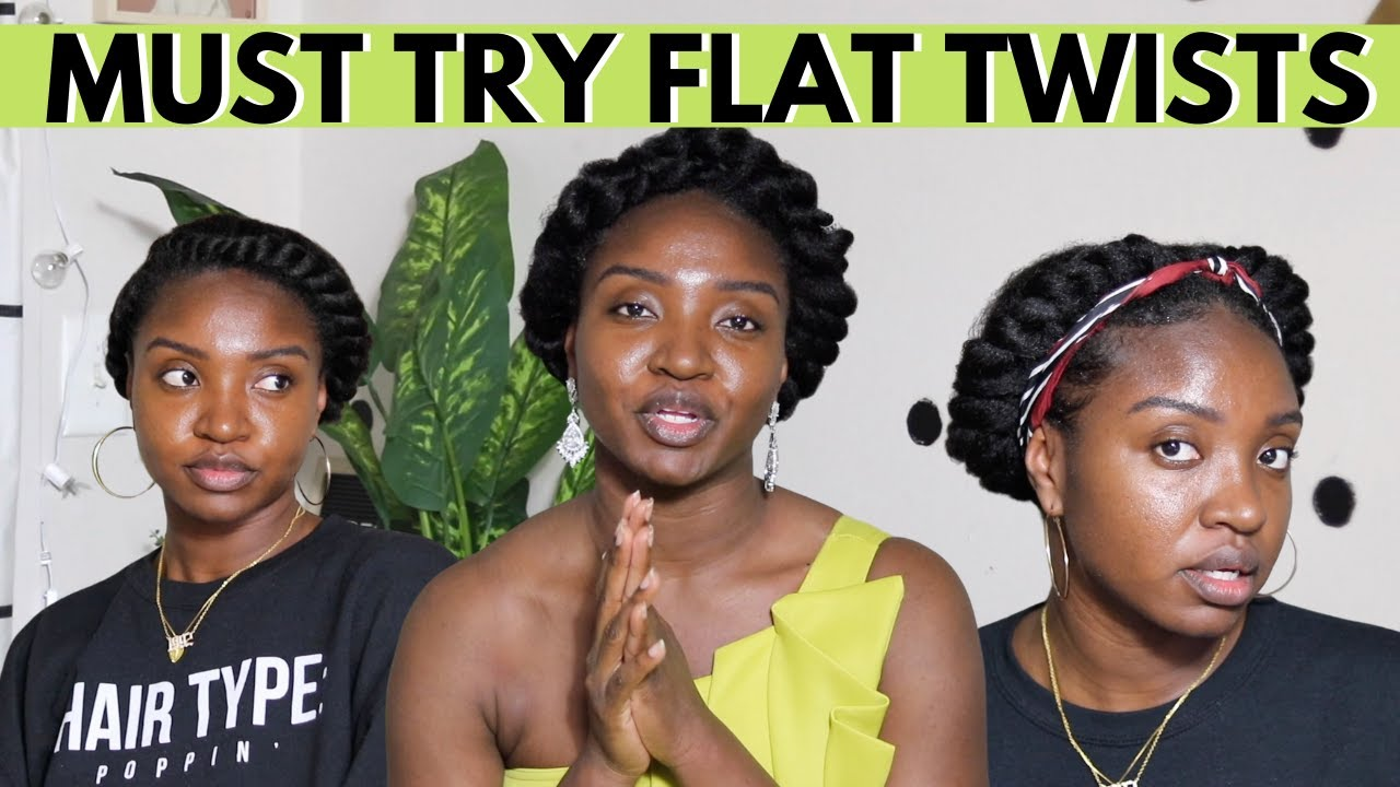 Must Try Flat Twist Styles | Natural Hair