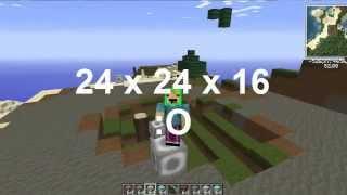 Clearing block MOD | Obtén un espacio para tus construcciones más rápido! | Minecraft 1.7.10 y 1.6.4