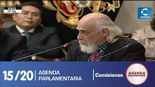 Sesión Comisión de Constitución 15/20 (17/07/19)