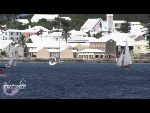 Fitted Dinghy Racing In St George's Harbour, Sept 16 2012