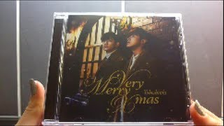 Unboxing TVXQ! 東方神起 39th Japanese Single Very Merry Xmas [Normal Edition]
