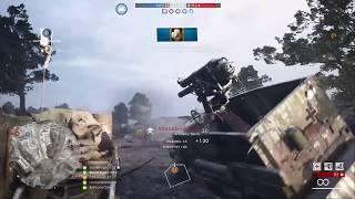 Battlefield 1 - Conquest - Rupture - Funny Artillery Truck Roadkill