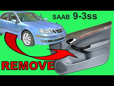 Saab 9-3 Door Panel Removal and refitting | Easy DIY w tips