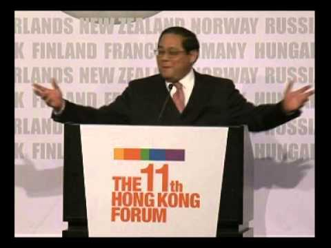 The 11th HK Forum - Victor Fung, Honorary Chairman, International Chamber of Commerce (Part I)