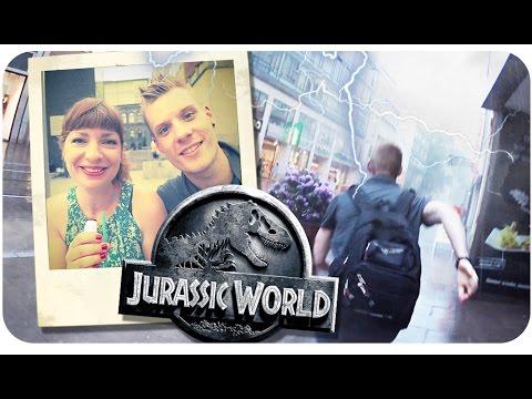 Jurassic World // Behind the Scenes, Kino FMA mit Toby, Regen-Stunt