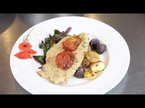 Healthy Eating For Seniors - Baked Chicken Dinner