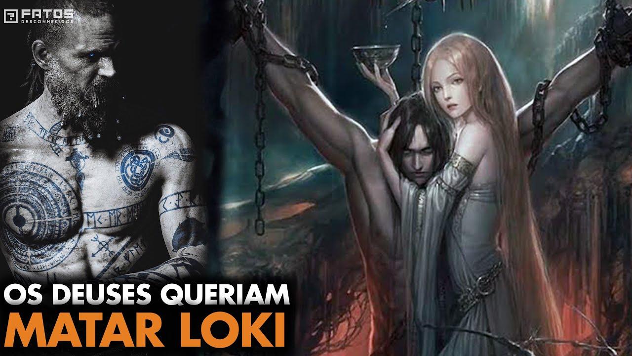 O Terrível Castigo de Loki