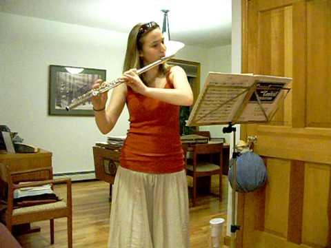 Bach Flute Sonata No. 4, Andante & Allegro