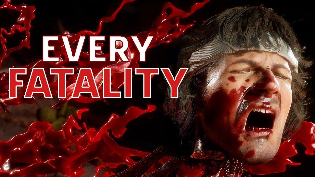 Download Every Fatality in Mortal Kombat 11 Ultimate in 4K