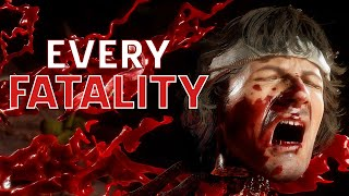 Every Fatality in Mortal Kombat 11 Ultimate in 4K Thumb