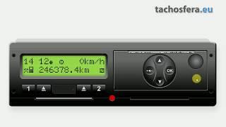 Zmiana czasu lokalnego w tachografie cyfrowym VDO