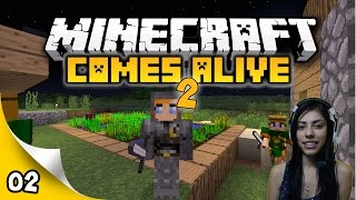 Minecraft Comes Alive 2 - EP 2 - She Attacked Me!