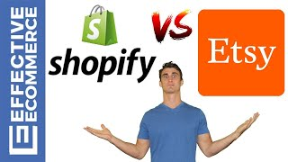 Shopify vs Etsy Pros and Cons Review Comparison