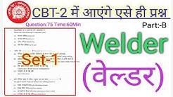 Welder(वेल्डर ) CBT-2 (75 question)  Part-B Model Paper/Previous paper Set-1