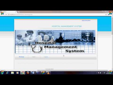 Simple Project Of Hospital Management System In Asp Net