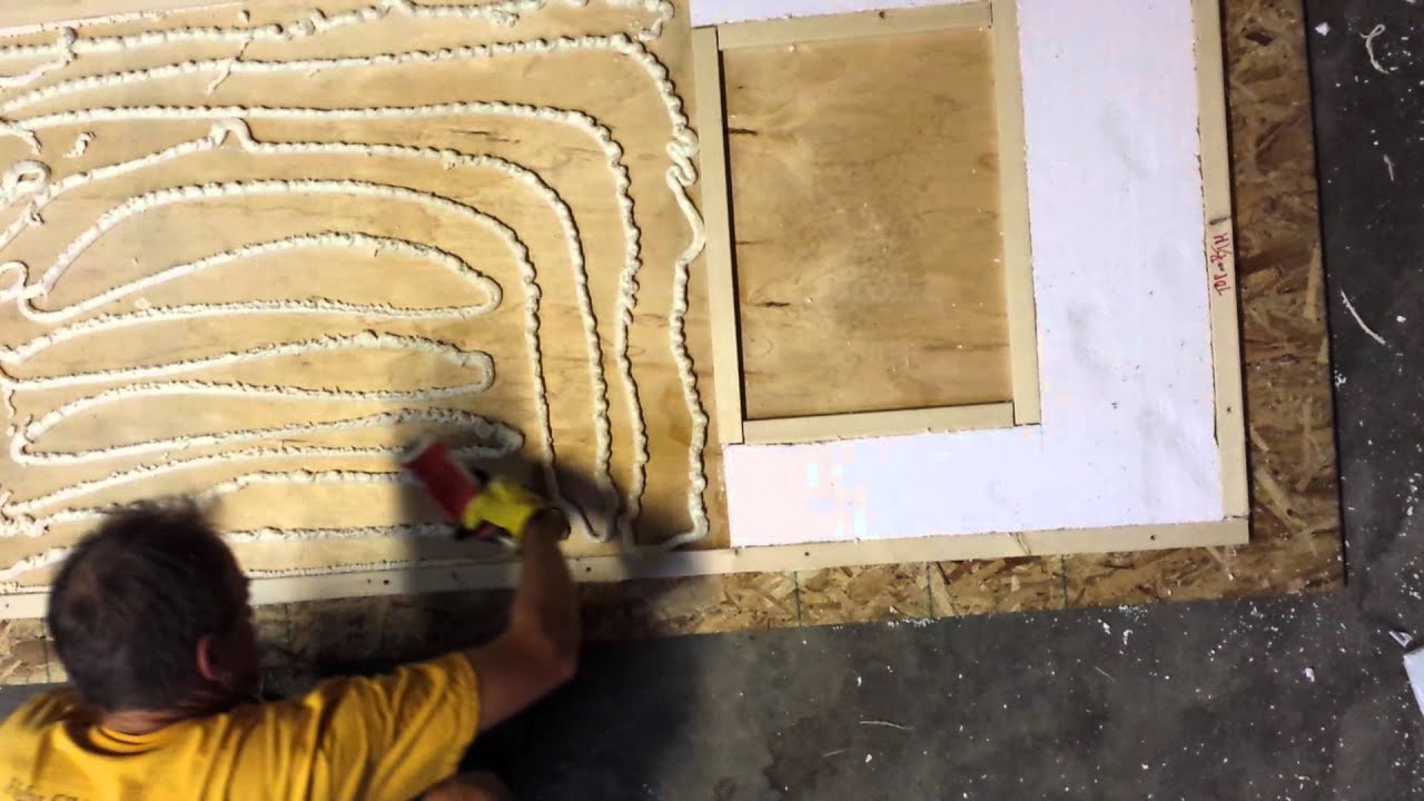 A Way To Make A Strong Light Insulated Door For A Custom