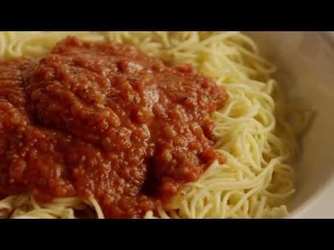 How to Make Quick Spaghetti Sauce | Pasta Recipes | Allrecipes.com
