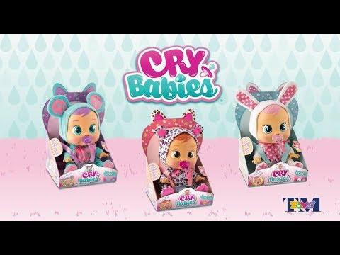 Cry Babies Interaktywny Bobas Płacząca Lala Tm Toys