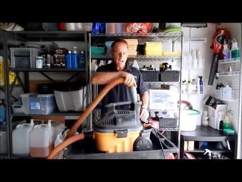 Best Detailing Vacuum: Why Darren uses the Ridgid 5 hp 4 gallon detailing vacuum