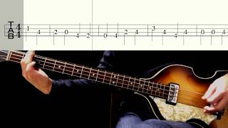 Bass TAB : All My Loving - The Beatles